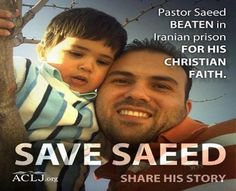 American Pastor Saeed Abedini - Save Saeed (edited) go to www.savesaeed.org and sign the petition. Just signing it can make you a hero!!!