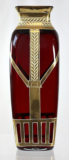 vase made by Josef Riedel c. 1905.