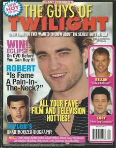Guys of Twilight magazine Robert Pattinson Taylor Lautner Cory Monteith