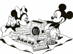 "The National Biscuit Company (""Nabisco"") saw the potential of Mickey and his friends as ""goodwill ambassadors,"" and Walt obliged with another unexpected production, ""Mickey's Surprise Party,"" a five-minute Technicolor® cartoon short created especially for Nabisco's exhibits at the 1939 World's Fairs — in both San Francisco and New York."