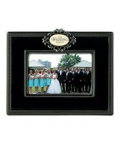 Black 'Wedding Party' Photo Frame