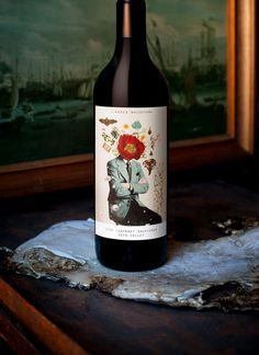 Wine Labels Mash Purveyors Of The Fine Art Direction & Design A Rare Case of Male Breast Wine Bottle Design, Wine Label Design, Wine Label Art, Wine Labels, Bottle Labels, Wine Photography, Bottle Packaging, Flower Packaging, Beverage Packaging