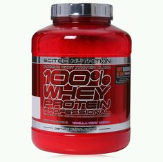 SCITEC OFFICIAL NUTRITION 100% Whey Protein Professional 2350g banana flavour in Protein Shakes & Bodybuilding | eBay