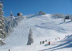 Pârtiile de schi de pe Valea Prahovei și Brașov