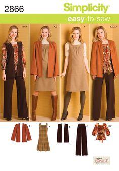 2866Misses' & Plus Size Sportswear Misses' & Plus Size Pants…