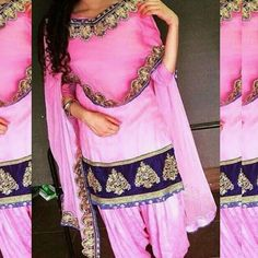 punjabisalwarsuit get it made in any color combination for any purchase queries whatsapp Delivery world wide . Bridal Anarkali Suits, Punjabi Salwar Suits, Patiala Salwar, Kurti, Indian Suits, Indian Dresses, Indian Clothes, Indian Party Wear, Indian Wear