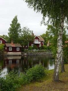 Sundborn, Sweden - one of the most picturesque places I've ever been!