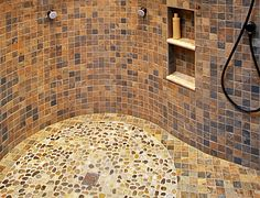 small tiles to make curves How to Choose the Right Shower Tile Next Bathroom, Bathroom Ideas, Whitney House, Small Tiles, Condo Decorating, Building Art, Dream Rooms, Home Projects, Tile Bathrooms