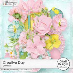 Creative Day - mini kit By Dita B Designs