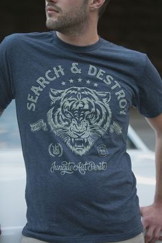 Search and Destroy Tshirt by strawcastle on Etsy