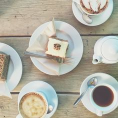 Sometimes all you need is coffee (or rooibos!), cake and friends... enjoy your day everyone.