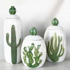 Latest Cactus Decor Ideas For Your Home - Growing cactus indoors is a relatively simple process. Although, most of the cactus plants tolerate neglect, they thrive properly when given good care. Cacti And Succulents, Cactus Plants, Prickly Cactus, Indoor Cactus, Cactus Decor, Cactus Art, Cactus Pics, Cactus Ceramic, Southwest Decor