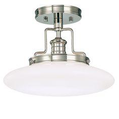 The Edgerton Semi-Flush Ceiling Light | Decorative Ceiling Light