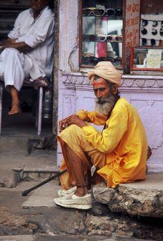 India - Macleodganj - Baba Photographed by Renato Siani