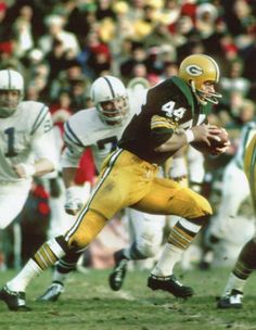 Donny Anderson Green Bay Packers 1966-71 and St. Louis Cardinals 1972-74.
