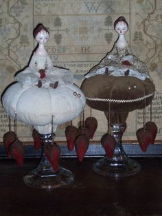 Maker of Fine Handcrafted dolls and Fine Handcrafts inspired by the 18th and 19th century Styles