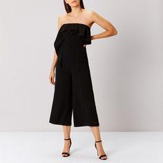 1dfceb2b96a Coast Lissa Bandeau Jumpsuit Black Size UK 16 LF172 RR 10  fashion   clothing