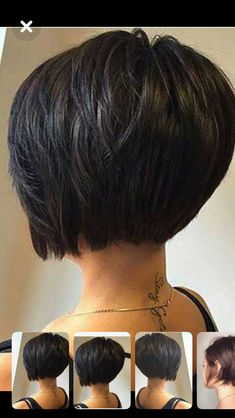 Best Short Bob Haircuts for Women Side-Parted Short Bob Haircut Best short bob hairstyles for women Bob Haircuts For Women, Best Short Haircuts, Short Hair Cuts For Women, Short Hairstyles For Women, Haircut Short, Haircut Bob, Short Bob Thick Hair, Bobs For Thick Hair, Short Angled Bobs