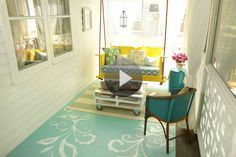 Watch Front Porch Ideas in the Better Homes and Gardens Video check out painting floor