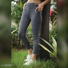 Trousers & Pants Trendy Women's Cotton Pant Fabric: Cotton Lycra   Waist Size: Up To 28 in To 36 in ( Free Size ) Length: Up To 38 in Type: Stitched Description: It Has 1 Piece Of Pant Pattern: Checkered Country of Origin: India Sizes Available: 24, 26, 28, 30, 32, 34, 36, 38, 40, 42, 44, 46, 48, 50, 52, Free Size   Catalog Rating: ★3.9 (260)  Catalog Name: Diva Trendy Women's Cotton Lycra Pants Vol 1 CatalogID_154038 C79-SC1034 Code: 562-1222925-195