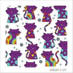 I love cat this app is the one for colouring  (Colourfy) downlod this app now ☺✏