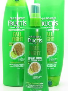 Fructis Fall Fight shampoo & conditioner - Great product for post pregnancy hair shedding