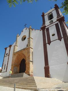 Church at Silves (Portugal).