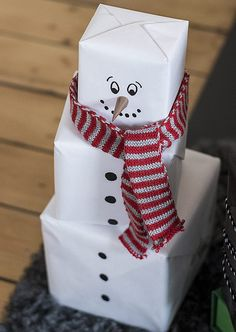 The more presents the merrier! We think frosty would agree. Courtesy of Skona Hem