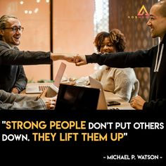 A habit of lifting others up is exactly how rich mind thinker would do. Show your true strength in making other people succeed too.  This is one of AdsHunter's principles. We help other business owners to continuously improve their business performances. Simply visit our website for more info.  #AdsHunter #digitalmarketing #businessonline #onlinemarketing #onlinestrategy #socialmedia #success Online Marketing, Social Media Marketing, Digital Marketing, Putting Others Down, Business Performance, Helping Others, Other People, Online Business, Motivational
