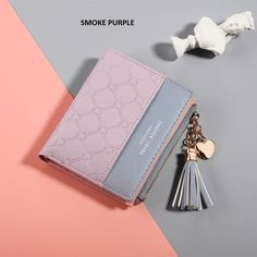 2019 New Women's Cute Fashion Purse Leather Long Zip Wallet Coin Card Holder Soft Leather Phone Card Female Clutch Zip Wallet, Card Wallet, Clutch Wallet, Zip Around Wallet, Thalia, Coin Card, Cute Wallets, Phone Card, Wallets For Women Leather