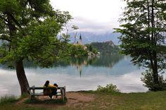 Bleg, Eslovênia - Lago maravilhoso
