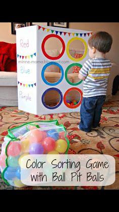 Colour toss