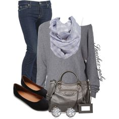 Coffee With Friends by sanchez-gaby on Polyvore featuring MANGO, 7 For All Mankind, Ollio, Balenciaga, Juicy Couture and Charlotte Russe