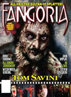 Fangoria Magazine Cover Art by Nick-Percival @ deviantart Witchfinder General, Tom Savini, Horror Movies, Horror Film, American Horror, Cover Art, Movie Posters, Magazine Covers