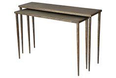 Pia Nesting Console Tables, Set of 2 on OneKingsLane.com