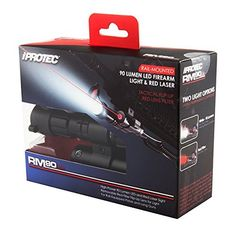 Iprotect RM90 90 Lumen LED Firearm Light and Red Laser by NEBO TOOLS. Iprotect RM90 90 Lumen LED Firearm Light and Red Laser.