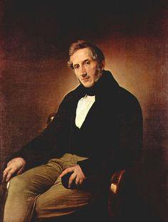 Francesco Hayez , Ritratto di Alessandro Manzoni 1841 , Pinacoteca di Brera , Milano