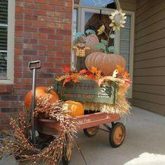 Autumn Porch Décor