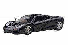 F/S AUTOart McLAREN F1 JET BLACK METALLIC 56002 1/43 Scale Model Car from Japan #AUTOart #McLAREN