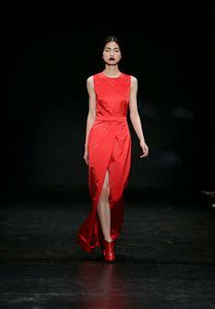 LUÍS CARVALHO   LAB Ideias Fashion, One Shoulder, Formal Dresses, Portuguese, Fashion Designers, Fall Winter, Collection, Vestidos, Dresses For Formal