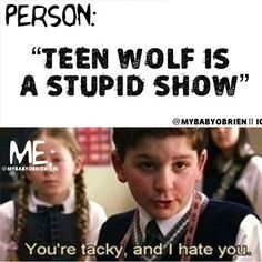 Teen Wolf School of Rock Meme