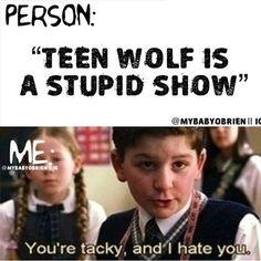 Teen Wolf School of Rock Meme