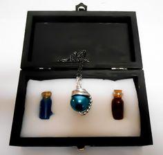Final Fantasy Materia Necklace Potion Box Final by KingsfieldInn