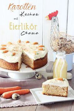 s'Bastelkistle: Karottenkuchen mit Eierlikör-Creme