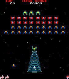 Galaga- Best. Video. Game. Ever.