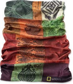 This covers a lot of bases: it's a bandana, sun-guard, scarf or hat, neck gaiter or dust screen—Buff Original Buff. Buff Original, Running Wear, Hiking Fashion, Headbands For Women, Warm Outfits, Style Me, Backpacking, Camping, Boho