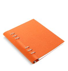 Clipbook Leather-Look Notebook