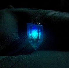 Twilight Amethyst - Glow in the Dark Amethyst Necklace - Glows From Within - Aqua, Blue, and Violet Glowing Colors