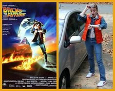 Harris Sisters GirlTalk: Marty McFly Back to the Future Halloween Costume
