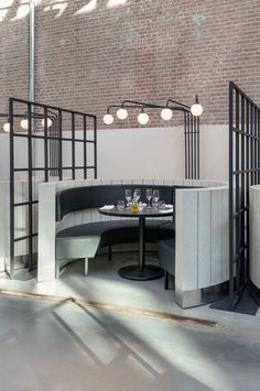 Meat West - industrial chick restaurant Amsterdam Framework Architects
